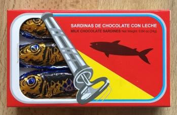 Konservenfisch Schokolade Heringe