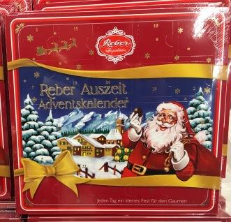 REBER Mozartkugeln Adventskalender