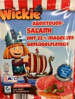 Böcklunder Wickie Abenteuer-Salamie