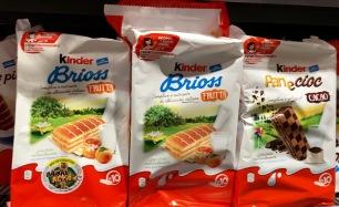 Ferrero Kinder Brioss Panecioc