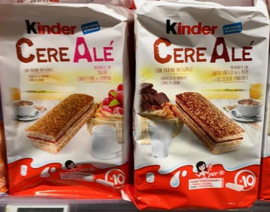 Ferrero Kinder Cere Ale
