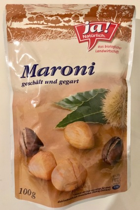 Ja natürlich Maroni Snack