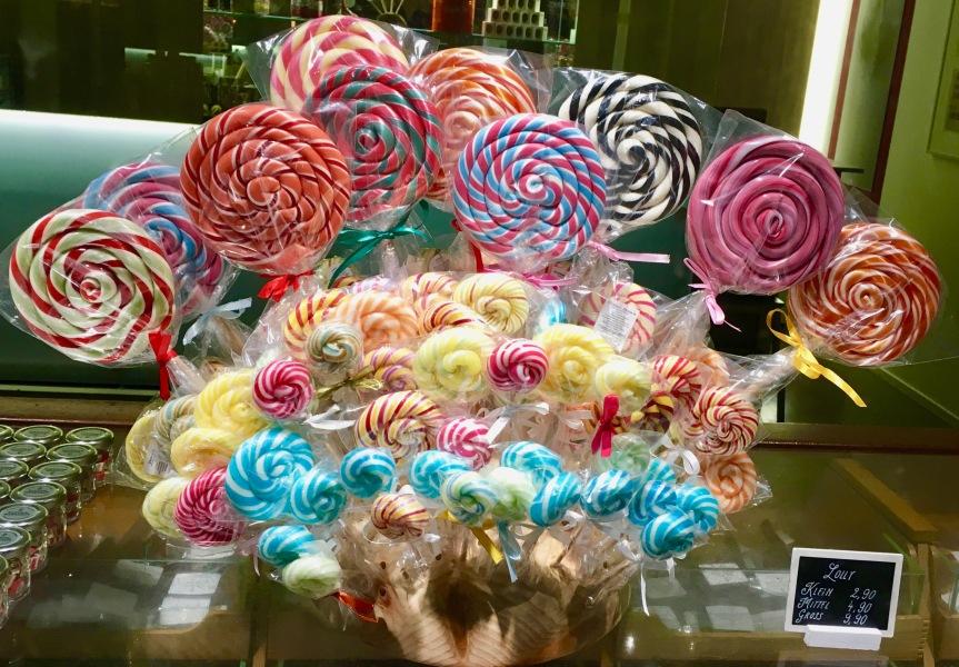 Dauerlutscher und Lollipops: Diese Bonbons habenStil