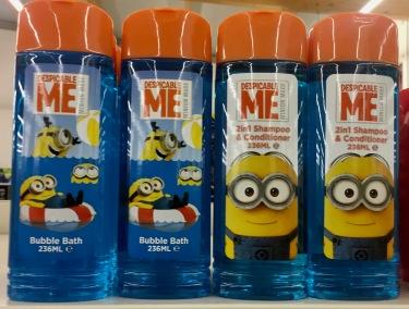 Duschgels Minions