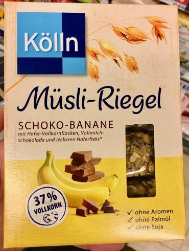 Kölln Müsli-Riegel Schoko-Banane