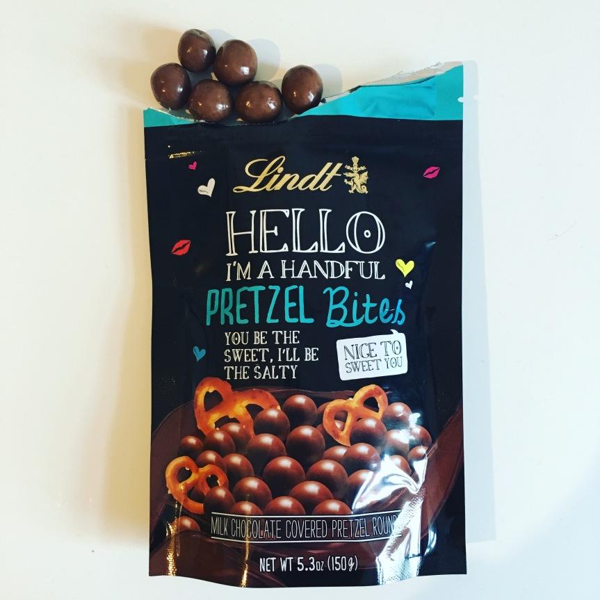 Lindt Hello Pretzel Bites Schokobretzeln