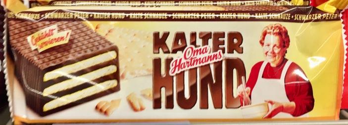 Oma Hartmanns Kalter hund Ganzer Kuchen