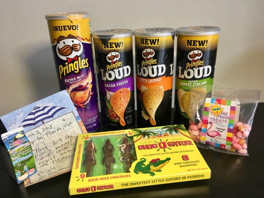 Freudige Überraschung aus Florida: Pringles &Candy