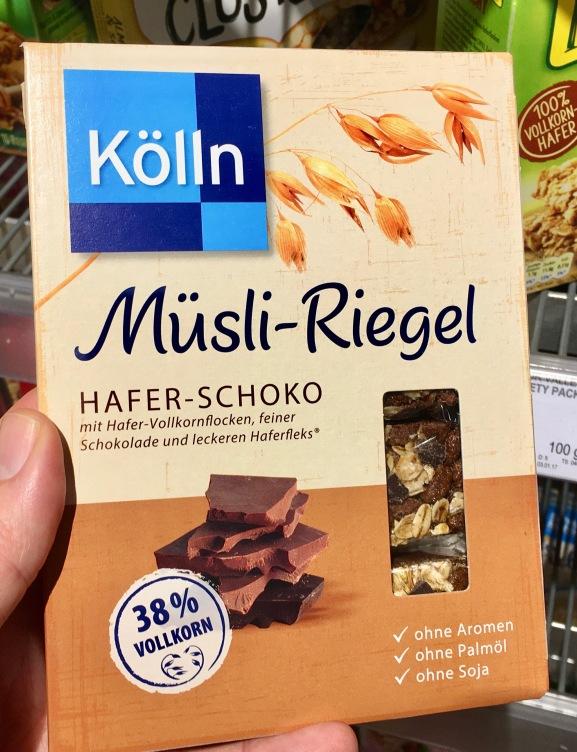 Kölln Müsli-Riegel Hafer-Schoko