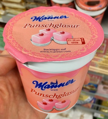Manner Punschglasur